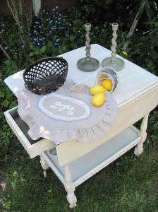 Shabby Chic Country Cottage Drop Leaf Table
