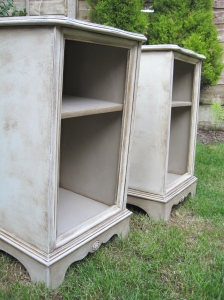 Annie Sloan Painted Bedside Cabinets Tables