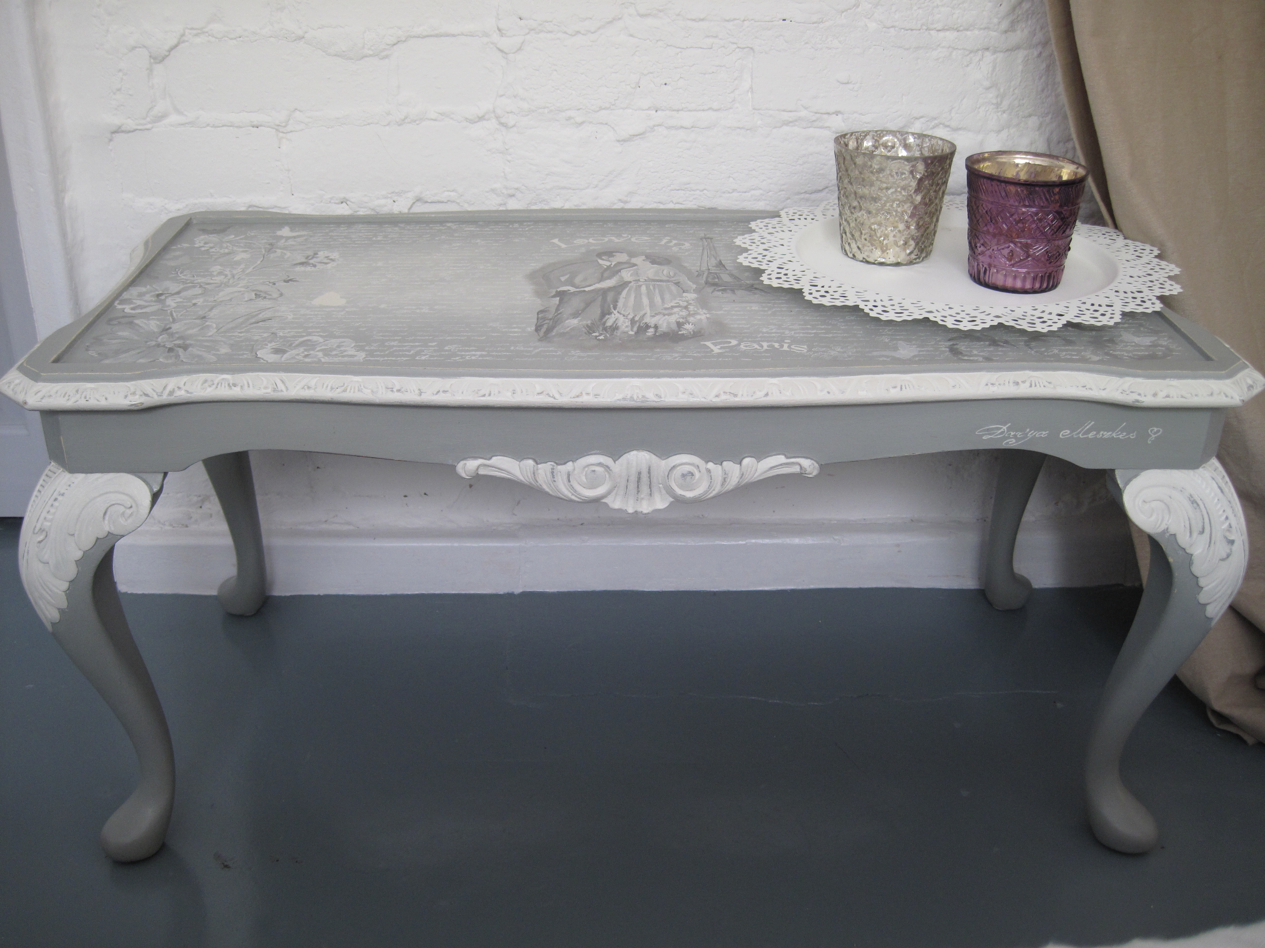 Grey Painted Furniture Ideas