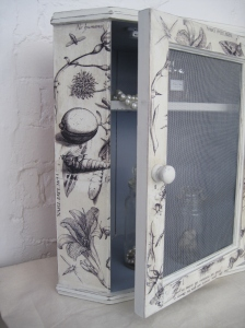 Small Shabby Chic Bathroom Cabinet