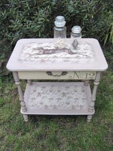 Petite Cabinet Bedside Table