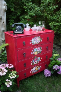 Shabby Chic Chest Of Drawers Dressing Sideboard Table Storage Vintage Antique