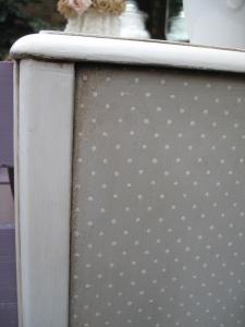 polka dot detail
