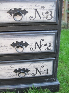 Shabby Salvage Chest of Drawers