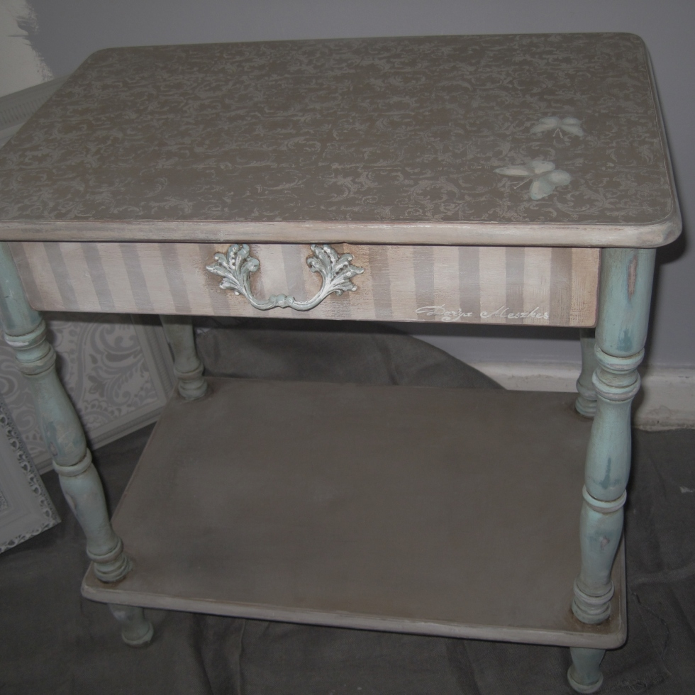 shabby chiffonier page 6 artfully hand painted furniture. Black Bedroom Furniture Sets. Home Design Ideas