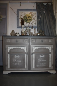 'Paris Credenza' sideboard, dresser cabinet