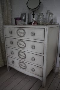 Shabby Chic Sideboard Dresser Chest of Drawers Dressing Table French Boutique