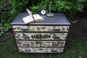 Shabby Chest Of Drawers Sideboard Dressing Table Storage Vintage Antique