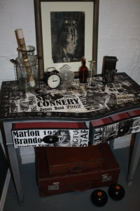 Hand Decorated Console Table