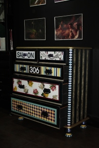 Bohemian Style Chest of Drawers Commission Project for Salon 306