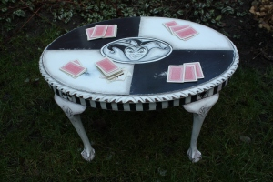 hand painted Joker Coffee Table