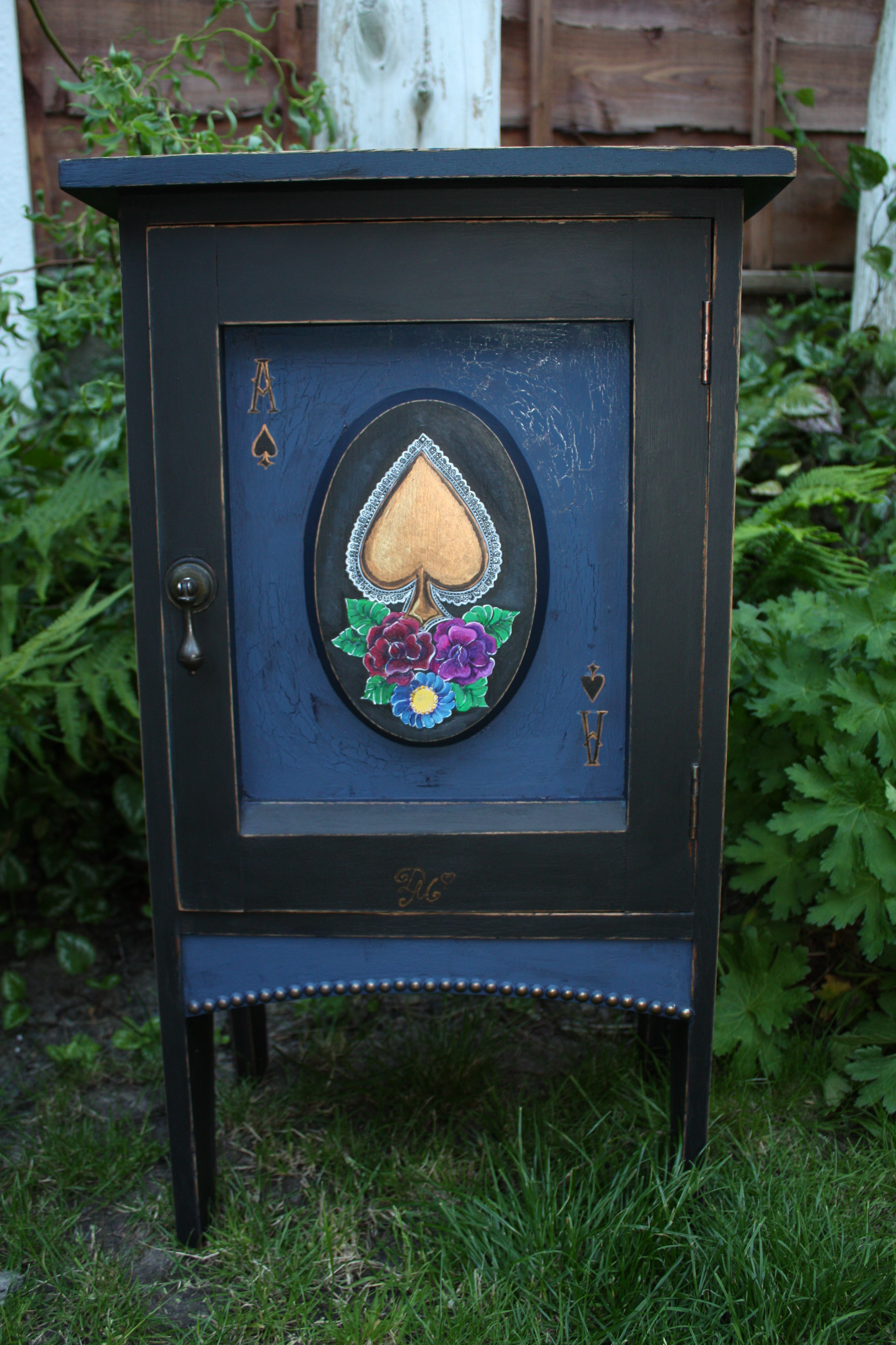 Alice In Wonderland Inspired Bedside Cabinet Customer